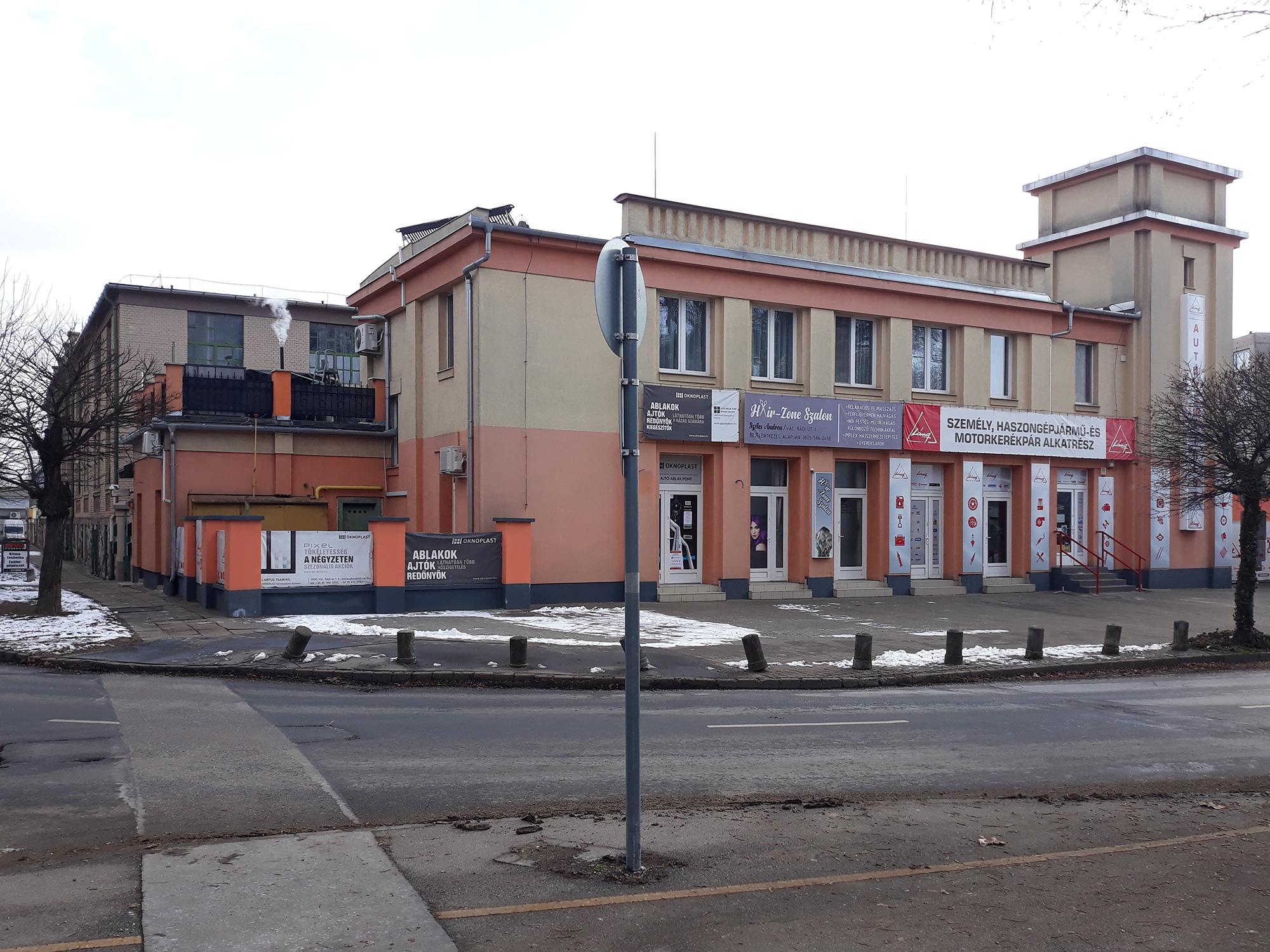 Kiadó iroda Tamato üzlet- és irodaház